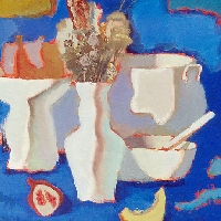 Still Life in Blue Palette
