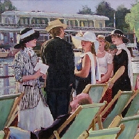 Spectators at Henley Regatta, 3