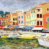 Embankment in Cassis