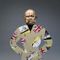 Churchill's robe