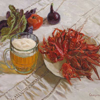 Still-life with Crayfish