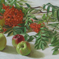 Still-life with a Mountain Ash