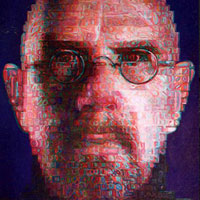 Double Portrait of Chuck Close