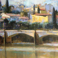 Arno Morning. Florence